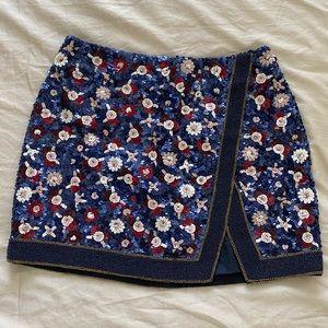 Sequin Sezane Skirt